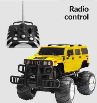 Jjuguetes de radiocontrol DelSol